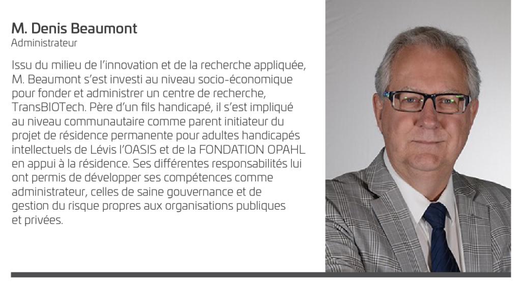 Denis Beaumont - Administrateur Société VIA
