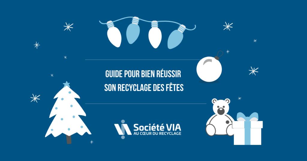 Guide réussir recyclage des fêtes-Société VIA