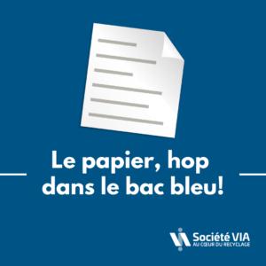 Papier_recyclage-Société VIA